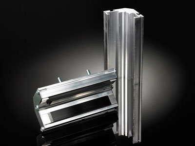 aluminum components for construction