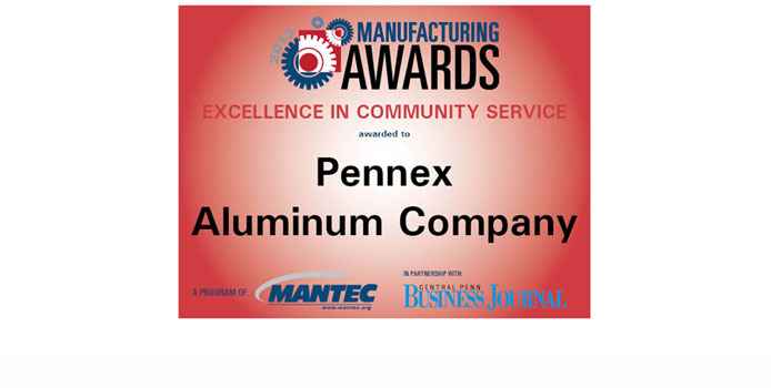 pennex manufacturing awards