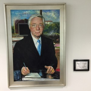 MEC Founder, Morris Lefton portrait